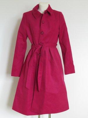 neuer schöner Mantel in Pink Gr. 36 (passt auch einer schmalen 38)