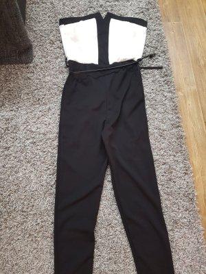 Neuer Schwarz-weißer Jumpsuit in Gr. S