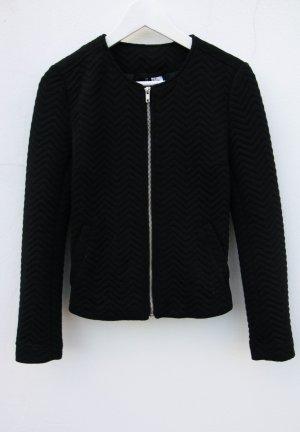 Neuer schwarzer Blazer von H&M Größe S Azteken Muster silber basic jacke