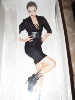Neuer sexy schwarzer vom Luxuslabel Wolford Ledergürtel, S, 68 cm, leicht elastisch