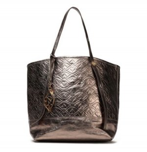 See by Chloé Shopper gold-colored-bronze-colored leather