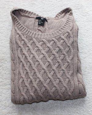 Neuer Strick Pullover in braun