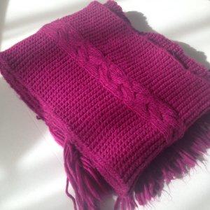 s.Oliver Bufanda púrpura-magenta