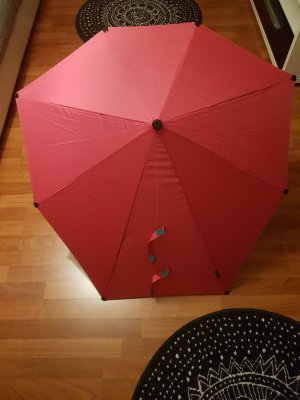 Walking-Stick Umbrella neon pink-magenta