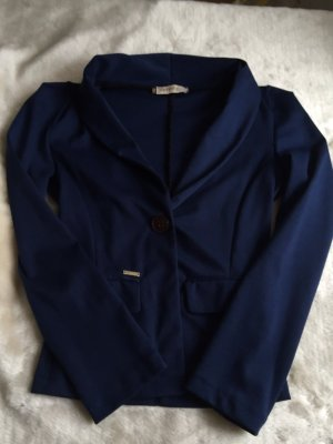 NEUER Sweat-Blazer in dunkelblau, S/36