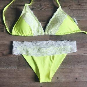 Neuer todiefor bikini elsaandrose neu new gelb weiß spitze