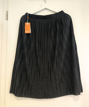 Boss Orange Falda a cuadros gris oscuro
