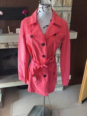 Neuer Trenchcoat/Mantel von s.Oliver Gr. 40 in apricot rosa