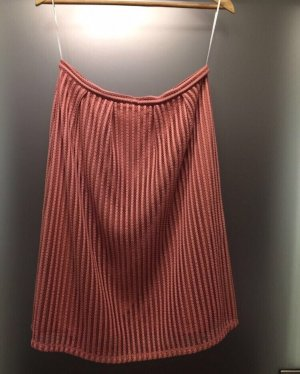 Vila Skirt dark orange