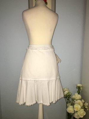 Neuer weißer MK-Jeansrock Baumwolle