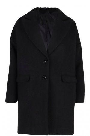 Boohoo Oversized Coat multicolored
