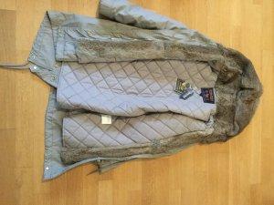 Woolrich Mode zilver-lichtgrijs Bont