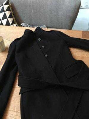Neuer Zara Wollmantel in schwarz