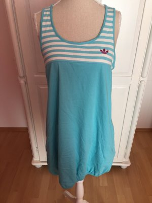 Neues Adidas Kleid blau weiß Tennis