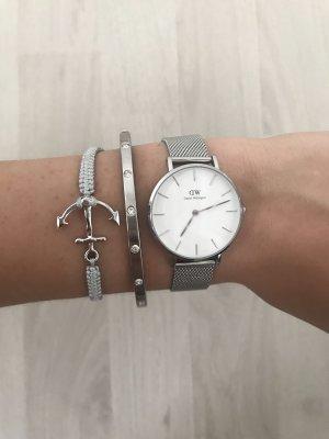 Neues Ankerarmband in Silber Bzw. Grau