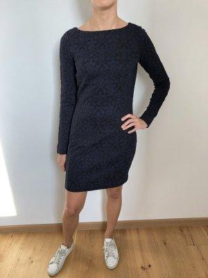 Armani Exchange Robe à manches longues bleu foncé