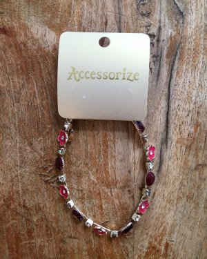 Accessorize Pulsera multicolor metal