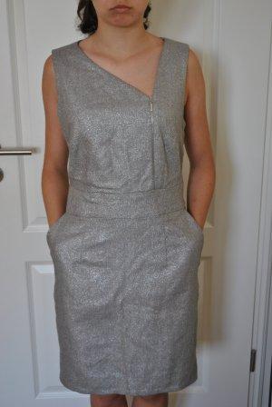 Baum und Pferdgarten Evening Dress silver-colored cotton