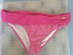 Venice beach Bikini rosa-blanco