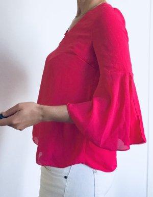 F&F Oversized Shirt magenta