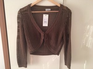 Street One Knitted Bolero brown