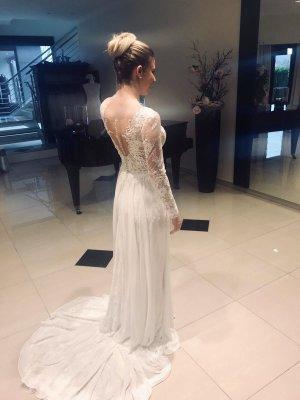 NEUES Brautkleid mit viel Spitze! Ungetragen!