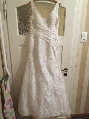 Sincerely Jules Robe de mariée blanc tissu mixte