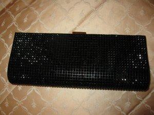Neues Clutch mit schwarzen Kristallen