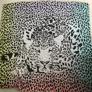 neues Codello Tuch/Schal bunt Leoprint