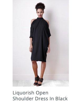 Neues Cold Shoulder Kleid von Liquorish