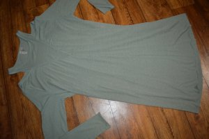 H&M Divided Cut Out Dress pale green-green grey
