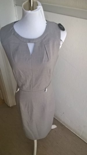 Neues Damen Sommer Business Kleid Grau Gr. 38
