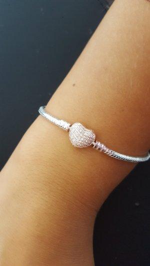 Bracelet silver-colored-rose-gold-coloured