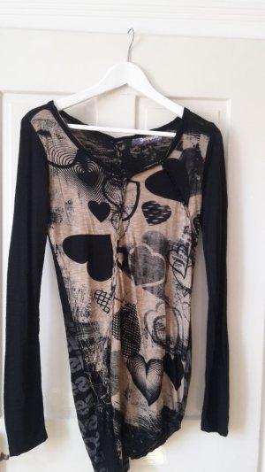 Neues Desigual Langarmshirt, Größe M