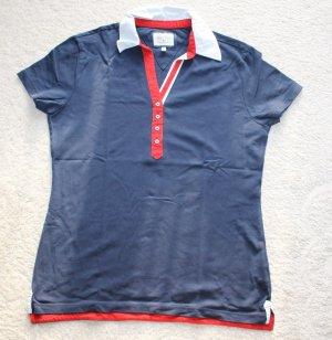 • Neues dreifarbiges Polo T-Shirt