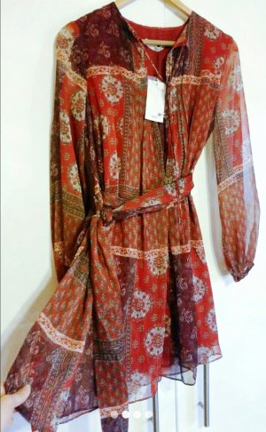 Neues Fliessendes Print-Kleid