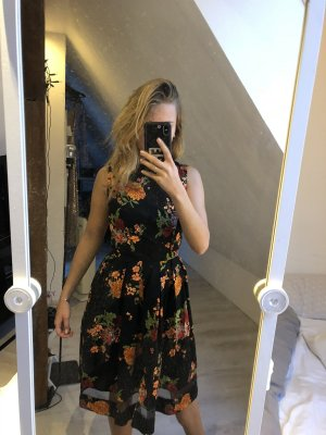 NEUES geblümtes A-Linien Kleid