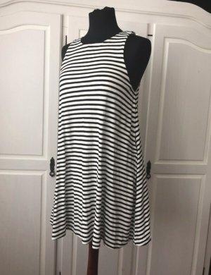 Neues gestreiftes Kleid von H&M Größe S A-Linie