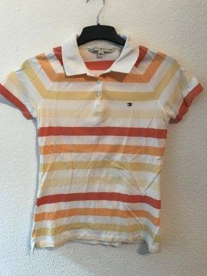 Neues gestreiftes Tommy Hilfiger Polo Shirt, Gr. M