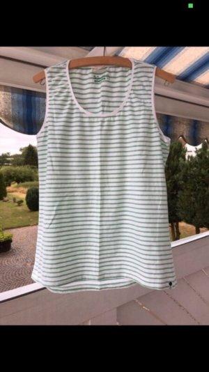 Neues grün weiß gestreiftes Top von Tchibo