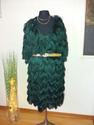 neues H&M Fransenkleid Charlsten Look Gr L
