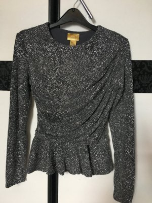 H&M Shirt silver-colored