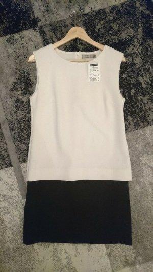 Neues Hallhuber Kleid schwarz weiß Gr. 38