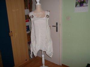 Camisa tipo túnica blanco Lino