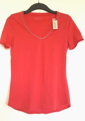 neues Intimissimi T-Shirt aus Baumwolle mit Straßsteinen am Ausschnitt