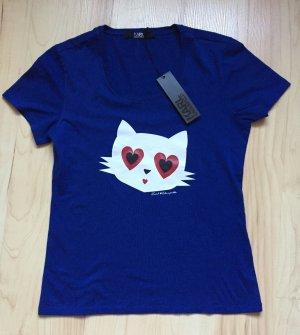 Neues Karl Lagerfeld Clueless Choupette Love T-Shirt Gr. XS
