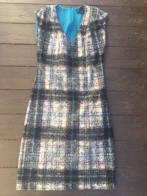 NEUES KARO Kleid, Tweed, elegante Wollqualität, simply elegant, Gr. SMALL