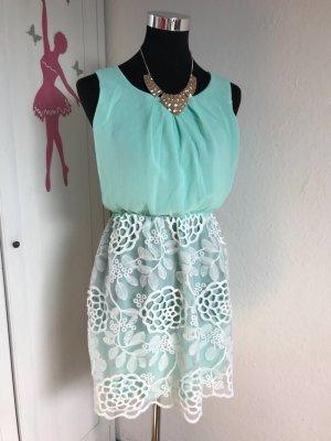 Sweat Dress turquoise