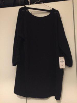Neues Kleid mit Spitzenapplikation, ungetragen mit Etikett, Größe L