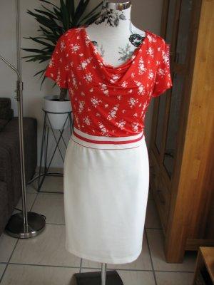 Apanage Robe rouge-blanc